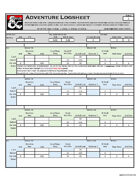Adventurers League Logsheet - Season 9 by SubDude
