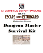 DDAL09-01 DM Survival Kit