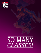 So Many Classes! [BUNDLE]
