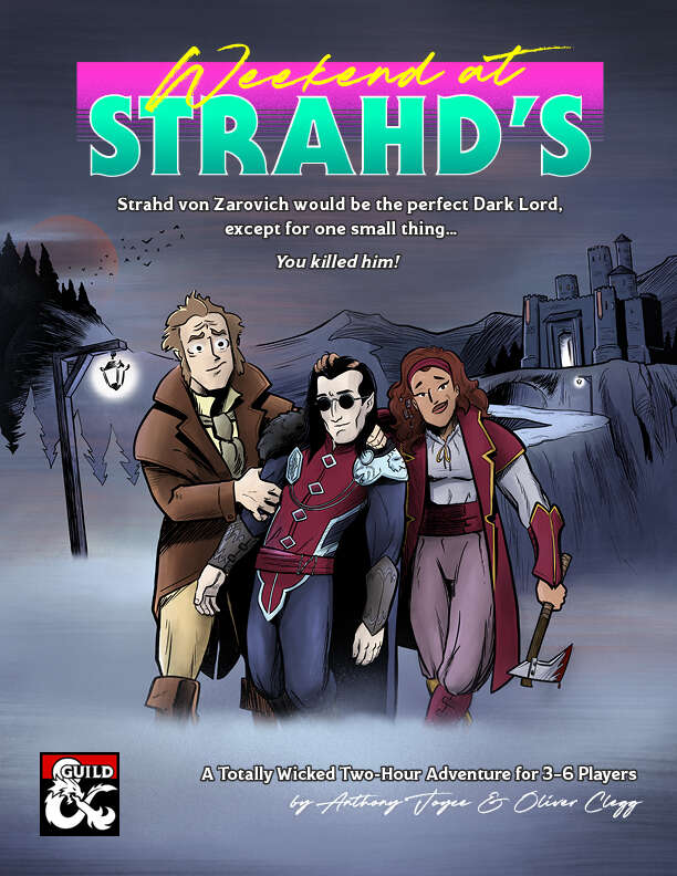 Cover of Weekend at Strahd's