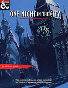One Night in the City: Urban Encounters of the Wild Kind