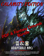 Adaptable NPCs: Calamity (PDF & Fantasy Grounds) [BUNDLE]