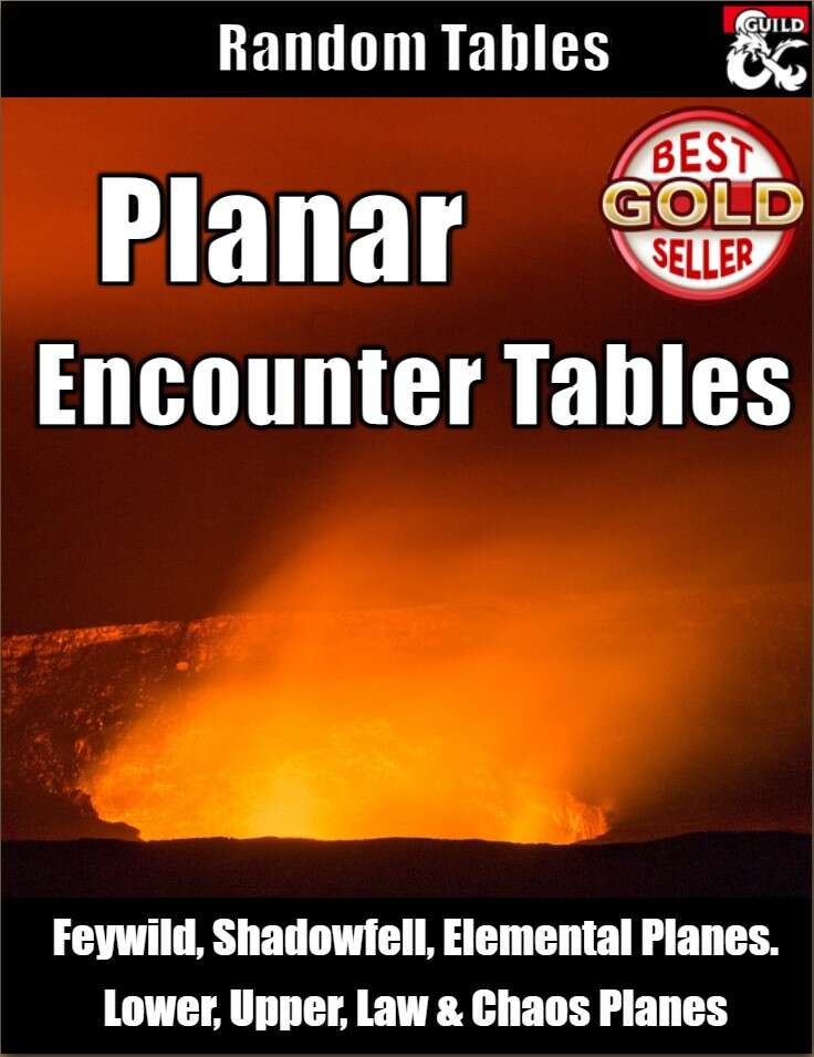 Planar Encounter Tables