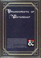 Broadsheets of Waterdeep