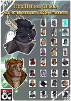 Heir of Orcus: Portrait Pack