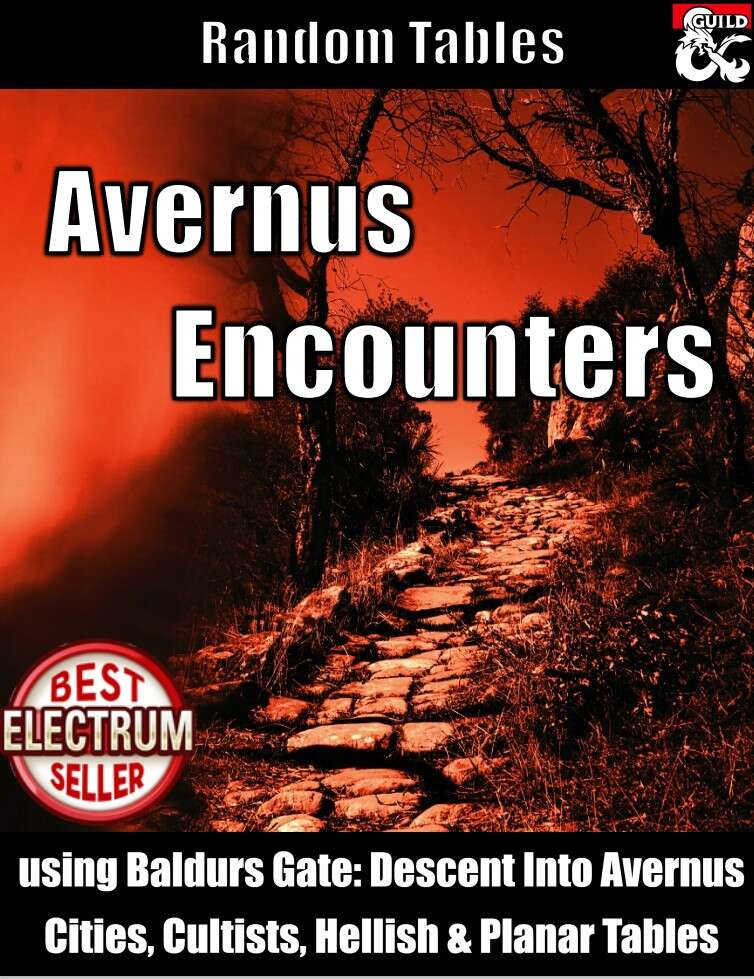 Avernus Encounter Tables