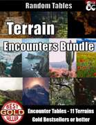 Terrain Encounters Bundle - Random Encounter Tables [BUNDLE]