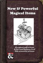 New & Powerful Magical Items