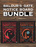 Big City Notice Boards [BUNDLE]