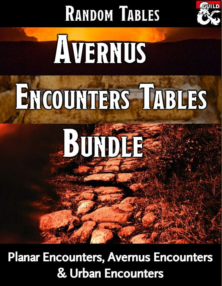 Avernus Random Tables Bundle