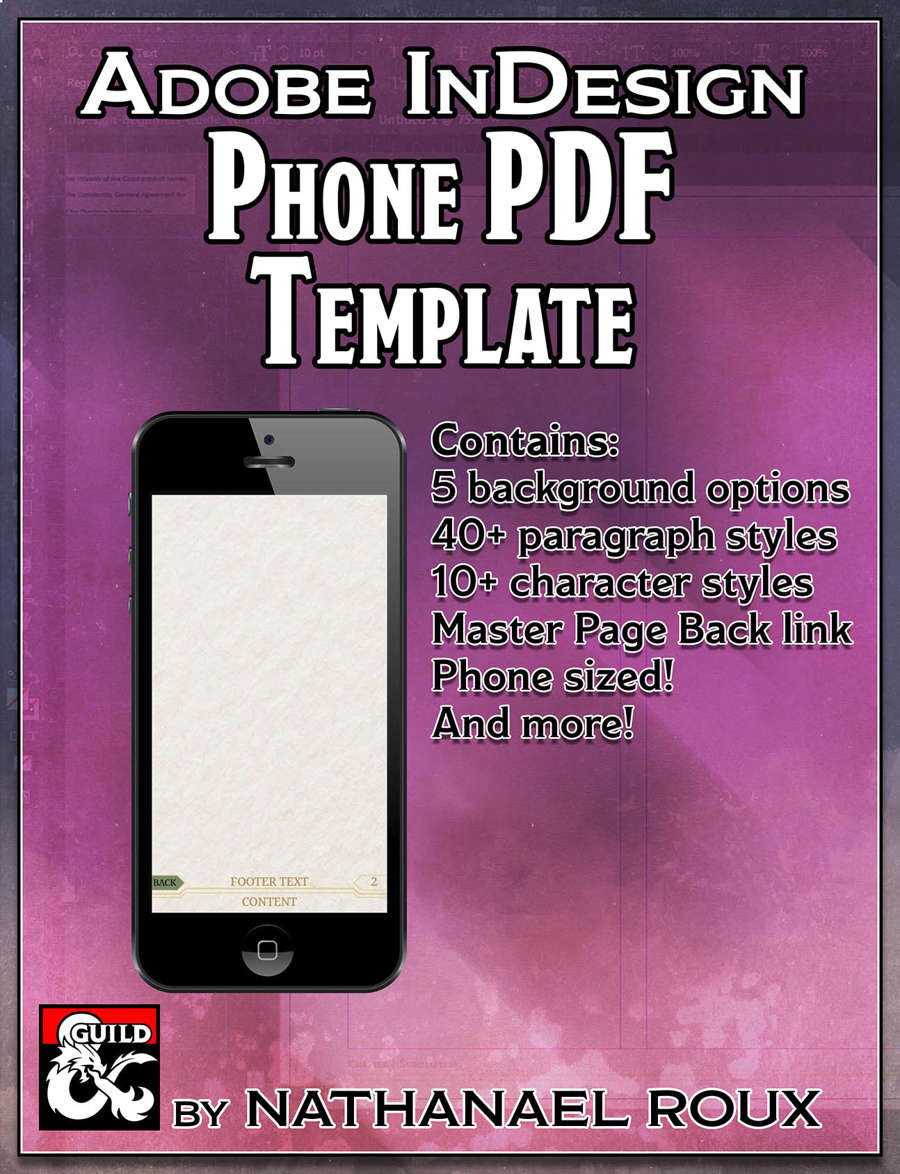 Template Cover