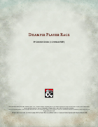 Dhampir Player Race