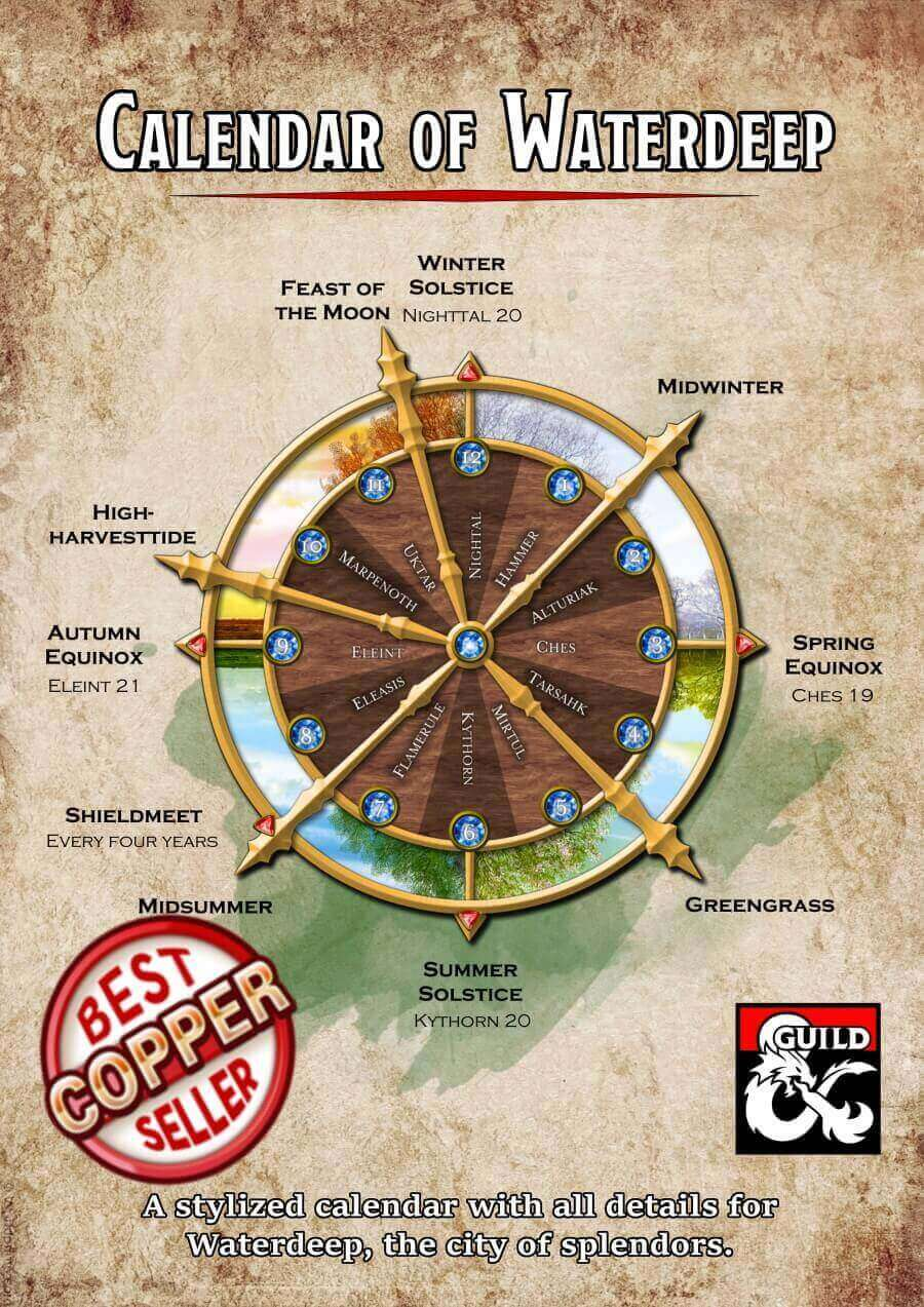 Calendar of Waterdeep
