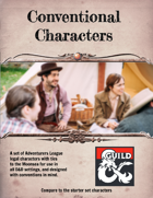 Conventional Characters