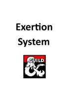 Exertion System (5e)