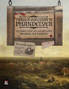 Tablica ogłoszeń w Phandelver