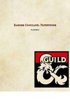 Ranger Conclave: Pathfinder