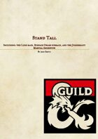 Stand Tall: Race & Archetype Bundle