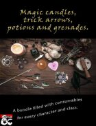 Magic candles, trick arrows, potions & grenades [BUNDLE]