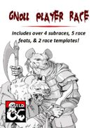 Gnoll Player Race