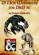 25 New Monsters for D&D 5e