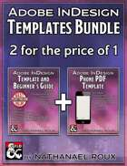 InDesign Templates [BUNDLE]