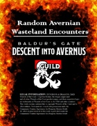 Random Avernian Wasteland Encounters - Baldur's Gate: Descend into Avernus