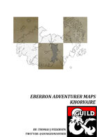 Eberron Adventurer Maps - Khorvaire