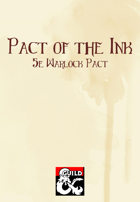 Pact of the Ink (5e Warlock Pact)