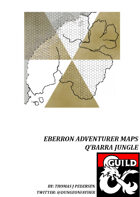 Eberron Adventurer Maps - Q'Barra Jungle