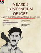 A Bards Compendium of Lore