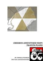 Eberron Adventurer Maps - Talenta Plains