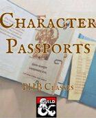 Character Passports PHB