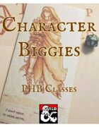 Character Biggies PHB