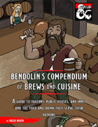 Bendolin's Compendium of Brews and Cuisine