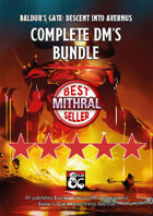 Baldur's Gate: DM's Resources [BUNDLE]