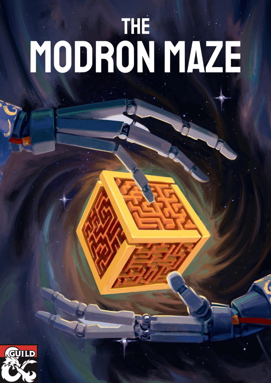 Cover of MM1 The Modron Maze