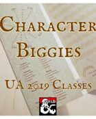 Character Biggies UA 2019