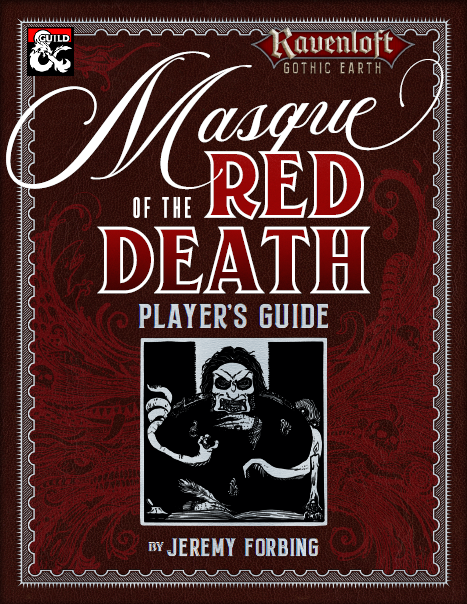 Cover of the Masque of the Red Death Player's Guide