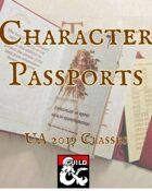 Character Passports UA 2019