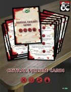 Critical Failure Cards (D&D 5th edition) for Printing and Roll20