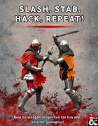 Slash, Stab, Hack, Repeat!