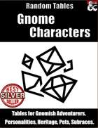 Gnome Characters - Random Tables