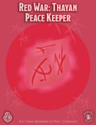 CCC-QUAKE-01: Red War: Thayan Peace Keeper