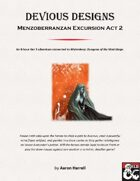 Devious Designs - Menzoberranzan Excursion Act 2