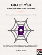 Lolth's Web - A Menzoberranzan Card Game