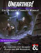 Unearthed! Crit Academy Complete Bundle [BUNDLE]