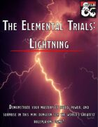 The Elemental Trials: Lightning