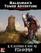 Balduran's Tower Adventure: A Curious Case of Flumphs