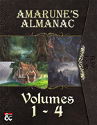 Amarune's Almanac - Volumes 1 - 4 [BUNDLE]